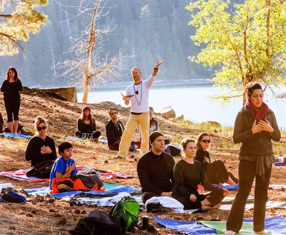 Pete Guinosso Yoga retreat national park california
