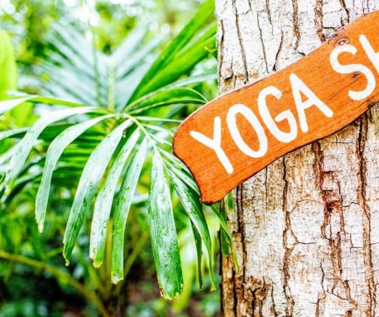 yoga shala sign yoga retreat Costa Rica