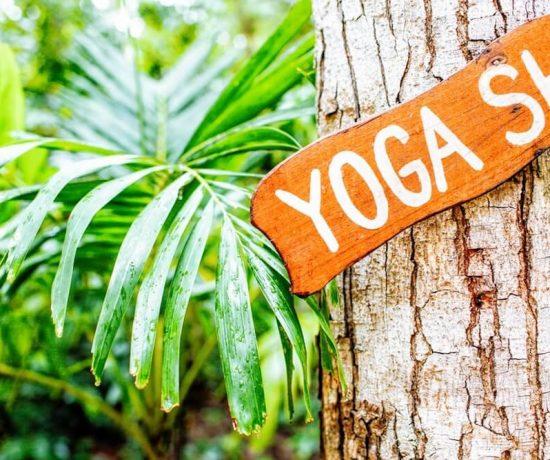 yoga shala sign yoga retreat Costa Rica