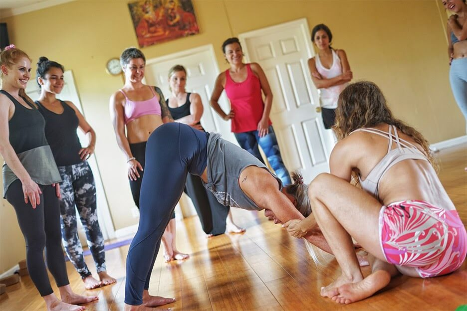 Maui yoga shala teacher training Hawaii