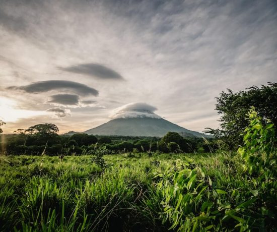 Landscape and volcano - Yoga retreats in Nicaragua