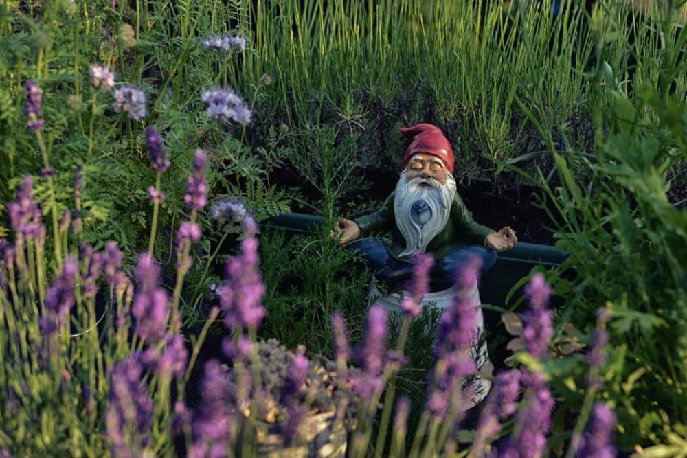 Dwarf doing meditation - Sign you need to go on a yoga retreat