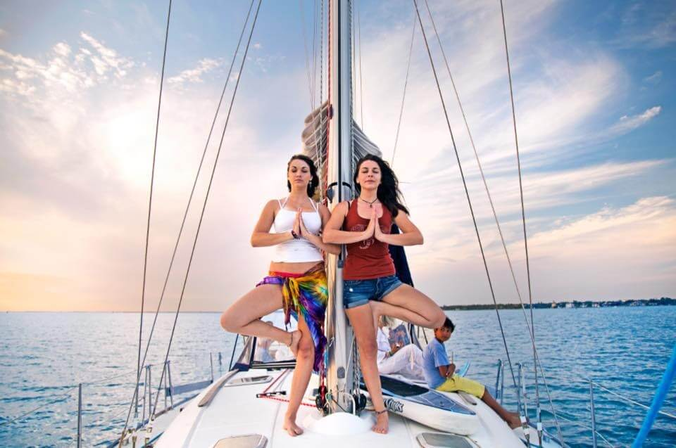 paradise yoga sailing retreat florida