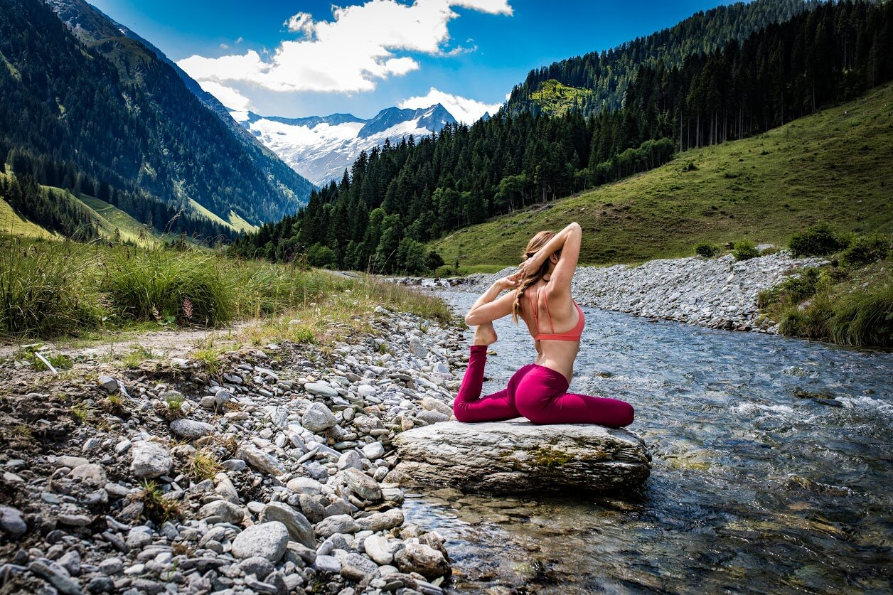Traumhotel alpina luxury yoga retreat