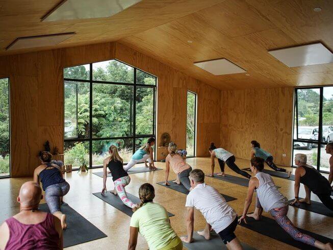 Sanctuary hill yoga retreat