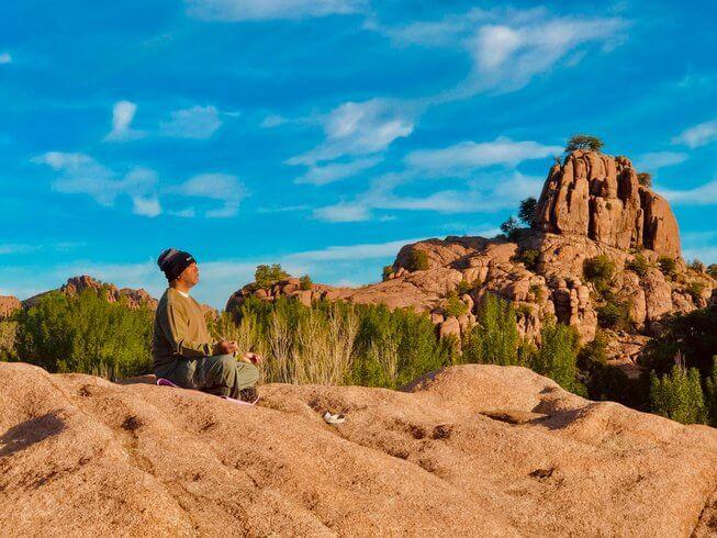 adventure yoga teacher training Arizona