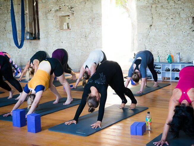 yoga retreats in france