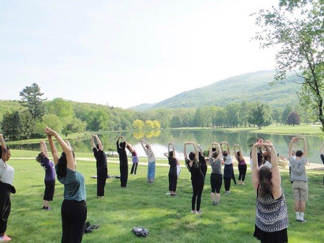 yoga retreat New York Catskills