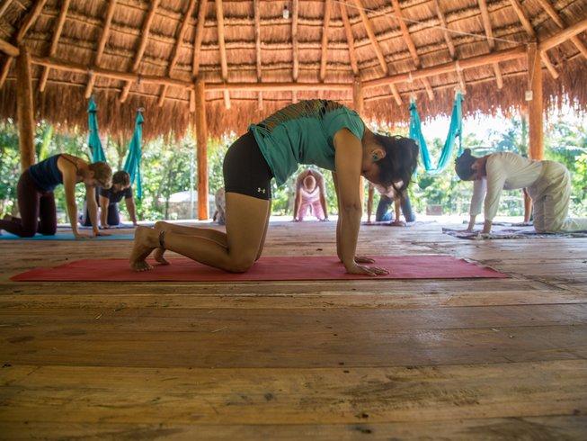 yoga retreat mexico agua healing